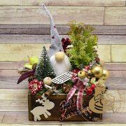 Karácsonyi asztaldísz 1
