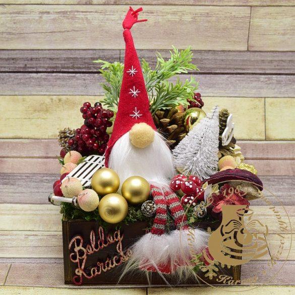 Karácsonyi asztaldísz 2