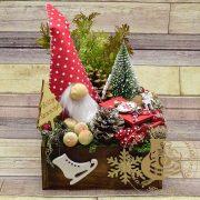 Karácsonyi asztaldísz 3