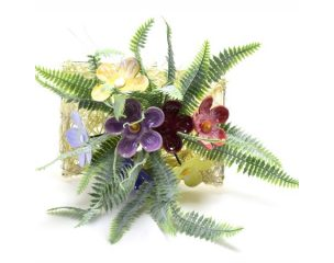 Apró kerámia virág